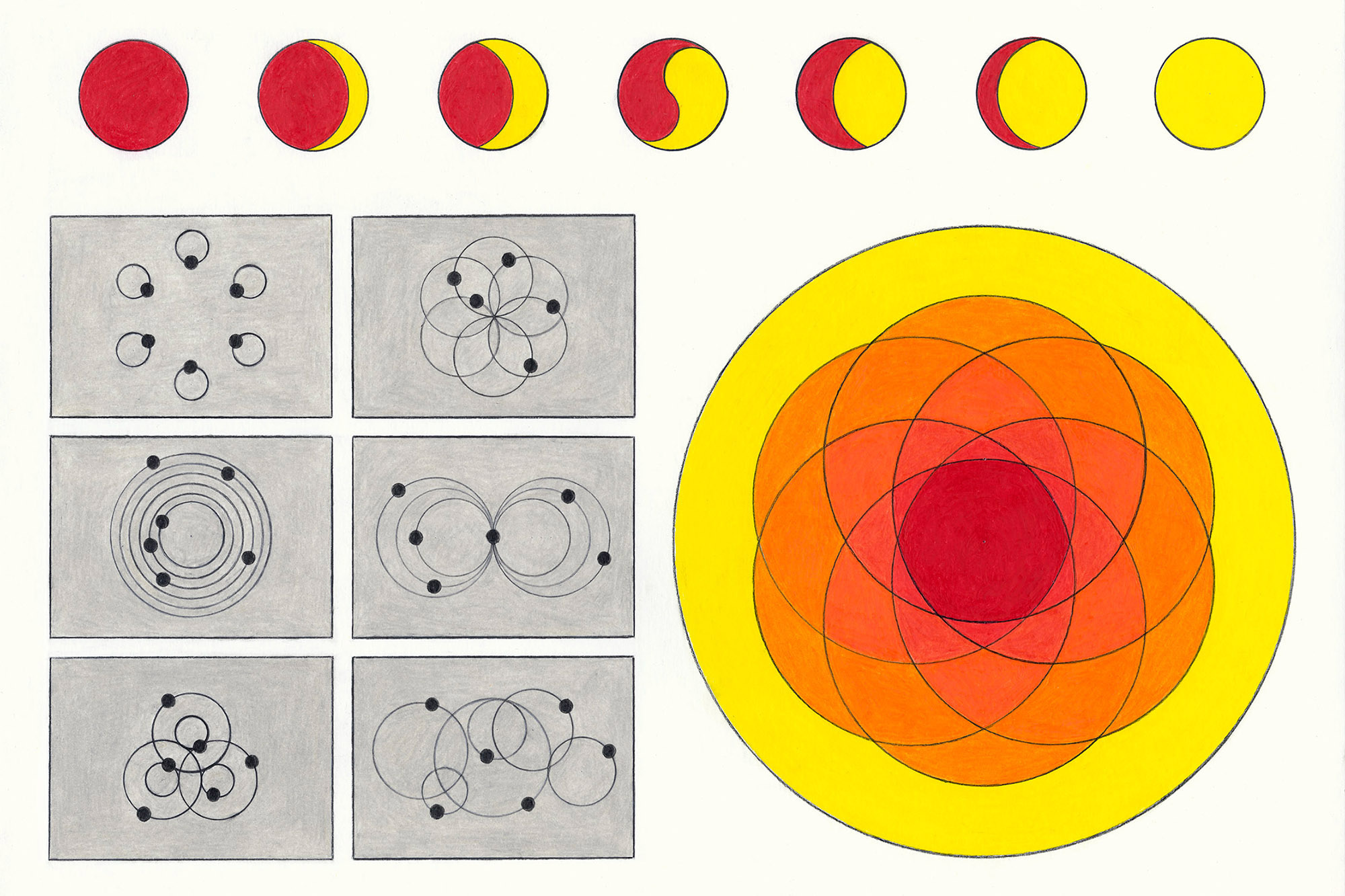 Space Models and Twist Diagrams